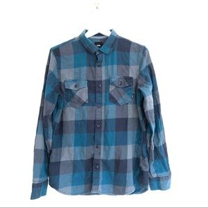 Vans Off The Wall Buffalo Check Button Down Shirt